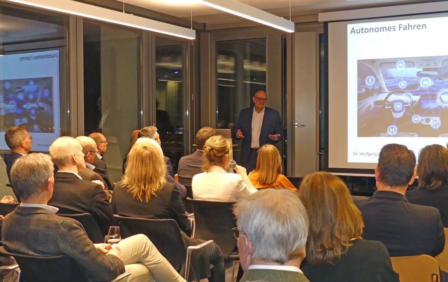 Erstes Management Forum 2020 bei Management Angels in Hamburg