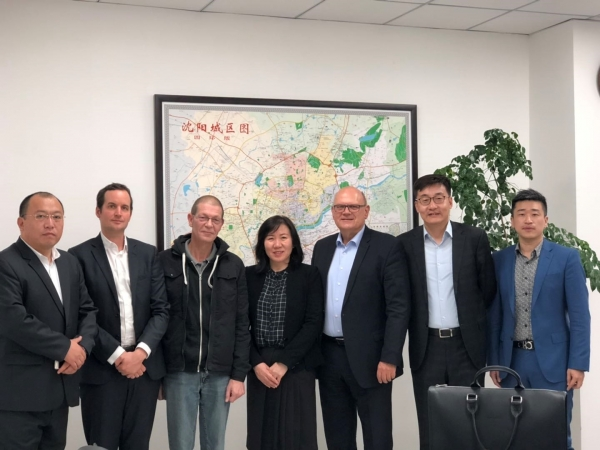 Visit of the CGEP office in Shenyang
